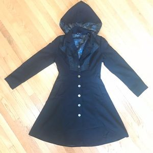 Harry Potter Deathly Hallows Hooded Jacket Size L